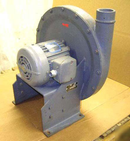 Buffalo forge dust collector blower for Dust collector motor blower