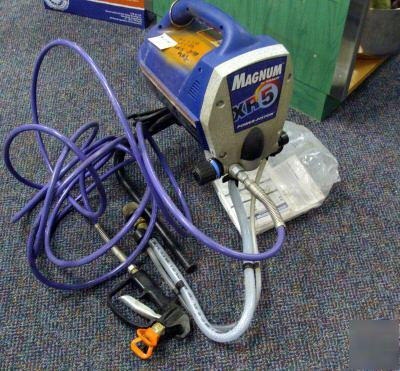 Graco magnum xr5 electric airless paint sprayer recon for Graco xr5 airless paint sprayer