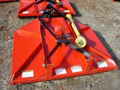 Fred cain 5' tractor rotary mower/cutter w/slip-clutch