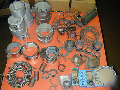 New lot 128 heater bands plastic injection molding most