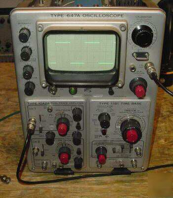 Tektronix 11B1 plugin for 647 647A oscilloscope 433