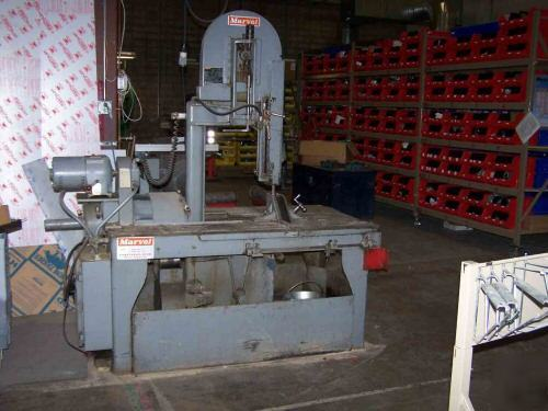 New Marvel No 8 Vertical Band Saw 1975