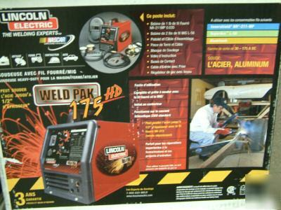 New lincoln~175HD~wire feed welder~175 hd~K2338-1~brand