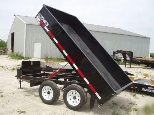 2008 Sure Trac Hydraulic Dump Trailer 7000 6x10