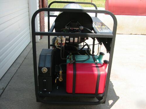 Mi T M Hot Water Pressure Washer Skid Unit Used Demo