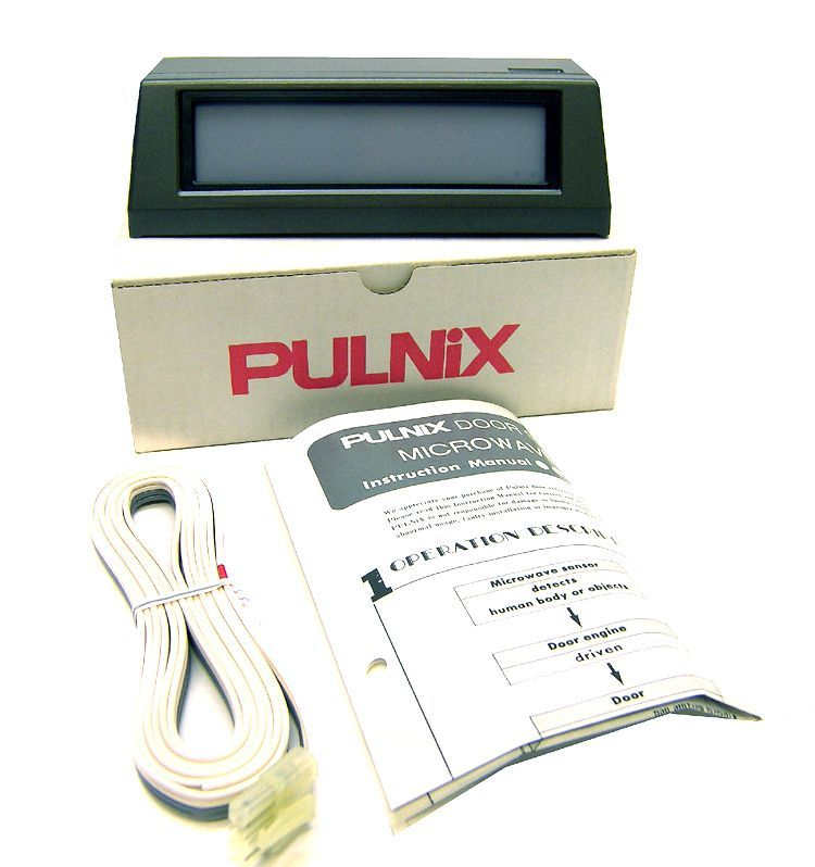 New lot 4 takex pulnix dm-610 door sensor microwave