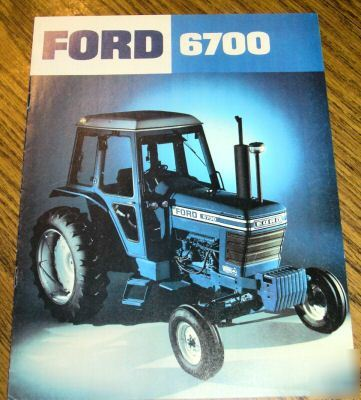 Ford Tractor Sales Brochure Literature Book Picture on Cadillac 4100 Problems