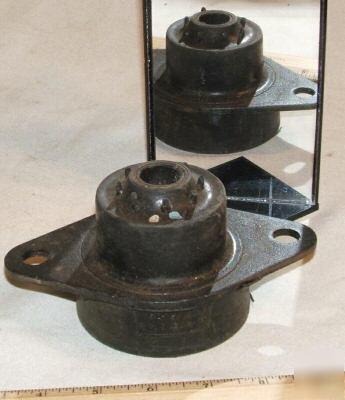 1 large 3 5 x6 rubber mount universal anti vibration for Anti vibration motor mounts
