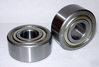 New 5304-zz ball bearings, 20MM x 52MM,5304ZZ, 5304Z z,