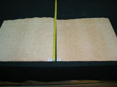 Wide nice birdseye maple veneer 19 sq. ft. lot 3083