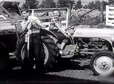 2 ford tractors and a scrap yard film on dvd 50S-60S