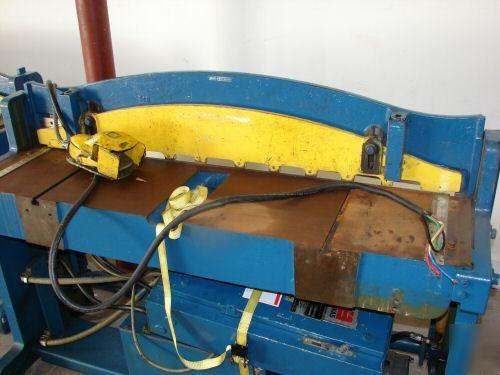 Diacro Houdaille Hydraulic Power Sheet Metal Shear