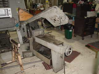 Kalamazoo horizontal bandsaw 8C-w, this saw works great
