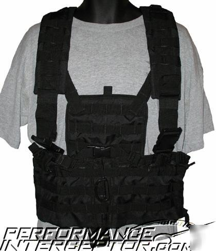 Police swat tactical equipment vest srt molle hydration