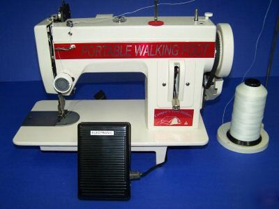 New industrial heavy duty walking foot sewing machine
