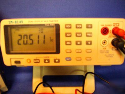 Mch digital multimeter 5.5 digit true rms bench freq db