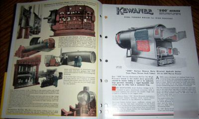 Gas Prices Near Me >> 11 rare 1940-50's kewanee boiler co. catalogs, colorful