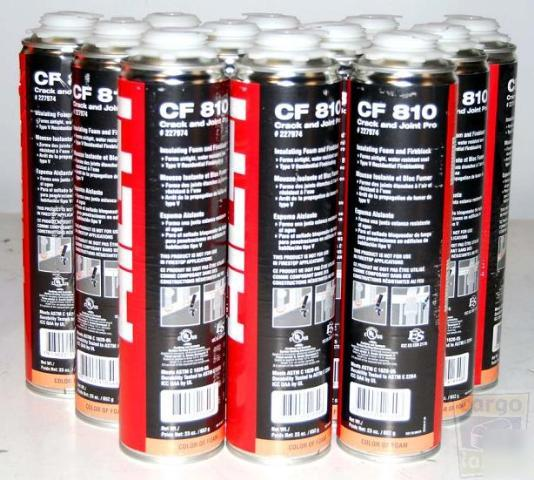 Hilti cf 810 crack & joint sealant 1 case of 12 cans