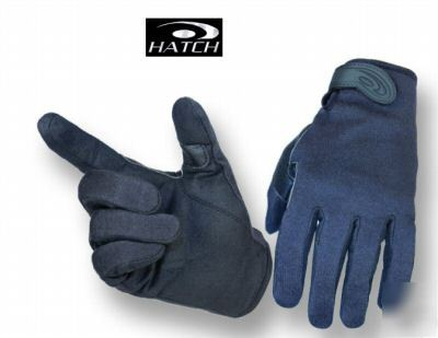 New hatch KPG200 kevlar patrolman leather gloves xl -