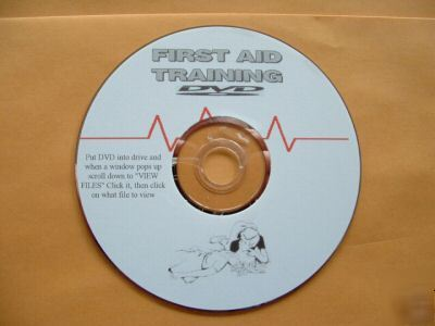 First aid training video dvd emergency medical