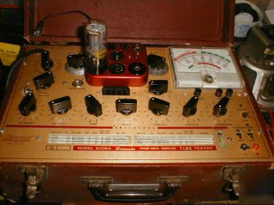 Hickok tube tester model 6000A, working condition