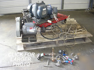 Used boekel 91700 & kinney KC2 vacuum pumps