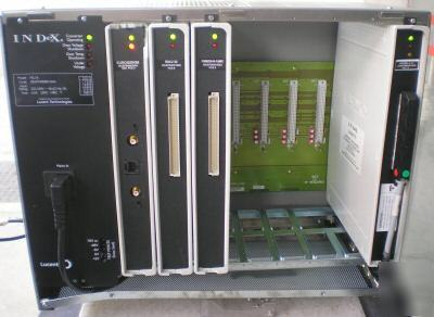 Lucent index psu 8 control unit cabinet with modules.