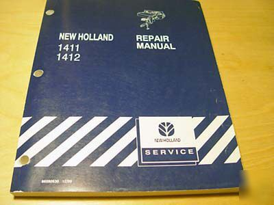 New holland 1411 1412 discbine service repair manual nh