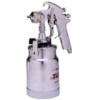 Spray gun suction 1.6MM fluid tip with cap & cup