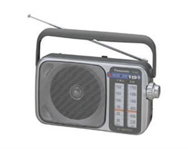 Panasonic portable am/fm radio rf-2400