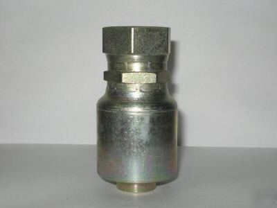 Parker hydraulic hose fitting #16 fjic generic
