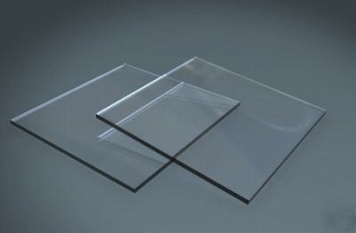 Acrylic plexiglass clear 1 sheet 1/2
