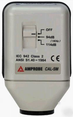 Amprobe cal-sm sound level calibrator