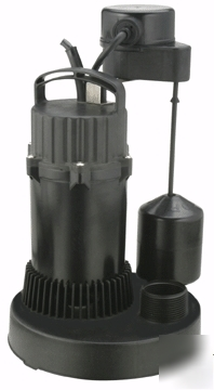 Chicago electric 3/4 hp dirty water sump pump