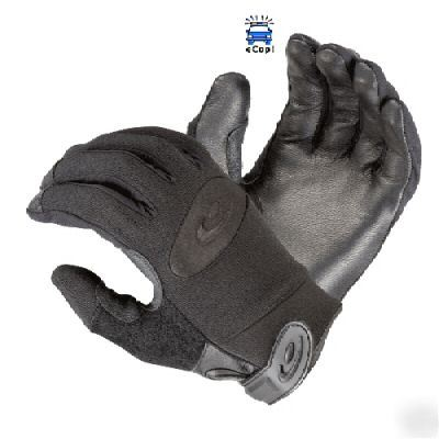 Hatch elite police duty search gloves with kevlar - xl