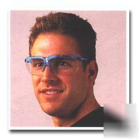 Uvex S3240X genesis blue frame safety glasses