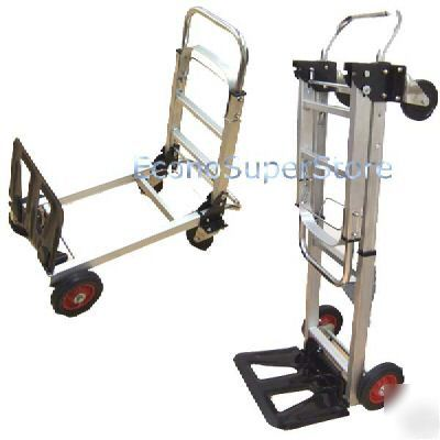 New 3 position aluminum hand truck dolly lowest $$$