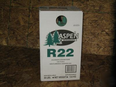 New sealed 30# cylinder R22 r-22 refrigerant