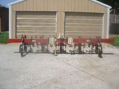 Noble 4 row danish tine cultivator , very good