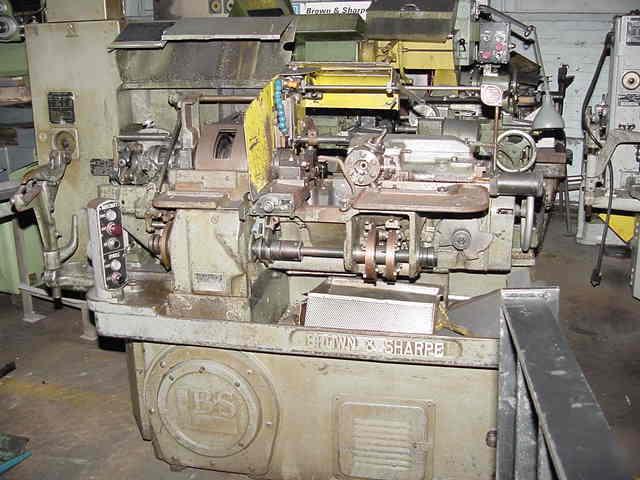Quot automatic screw machine brown sharpe