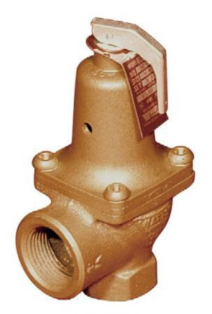 174A 1 30# 1 174A asme relief watts valve/regulator