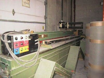Scm - z 45 front load panel saw