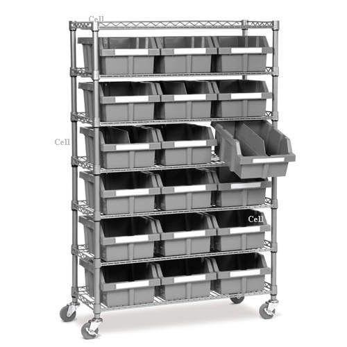Storage Shelves Bins Images