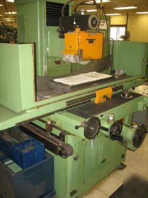 12� x 28� blohm 3 axis automatic surface grinder