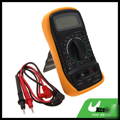 Electricians digital multimeter readout amp & voltmeter