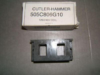 New cutler-hammer 505C806G10 circuit breaker