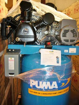 Puma, 7580VM, air compressor, two stage, 80, gal.lon