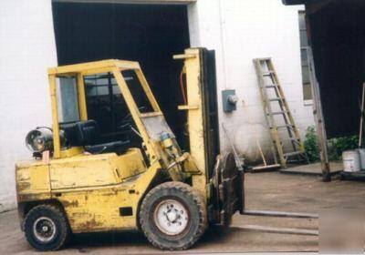 6000 lb clark lift truck, no C500-YS60, 3 stage(15489)