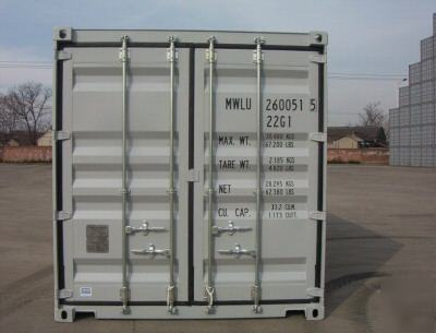 20' storage/ shipping container containers