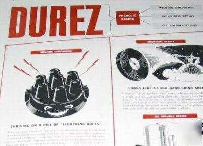 Durez plastics-chemicals north tonawanda ny -5 1945 ads